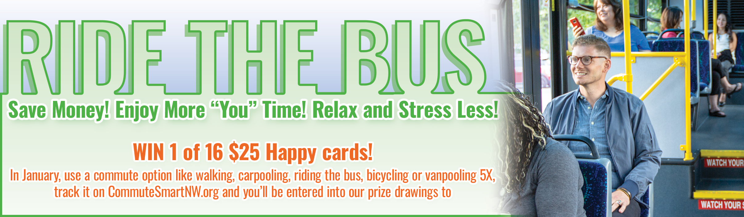 Ride the bus this January!