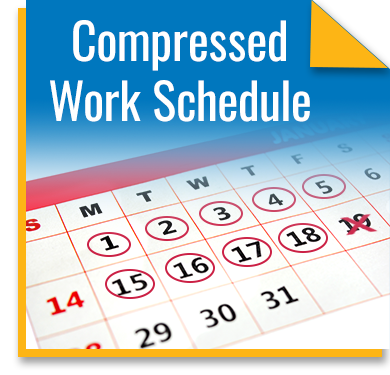 The benefits of a compressed works schedule