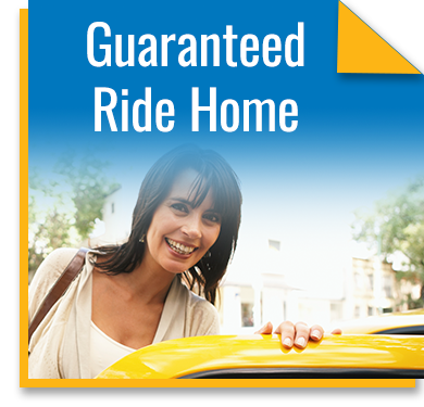 A guaranteed ride home program