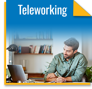 The benefits of teleworking