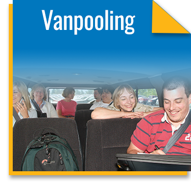 The benefits of Vanpooling!